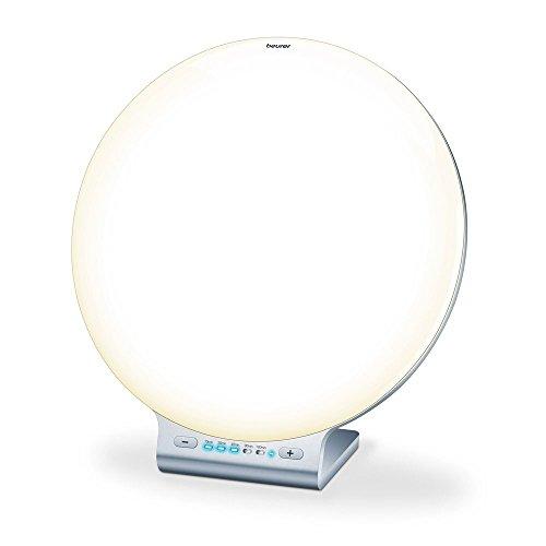 Beurer TL 100 2in1 Tageslichtlampe rund, weiß