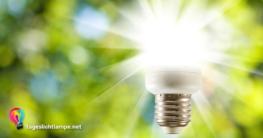 Sonnenstrahlen die aus einer Tageslichlampe kommen - Erklärung für Funktion Tageslichtlampe